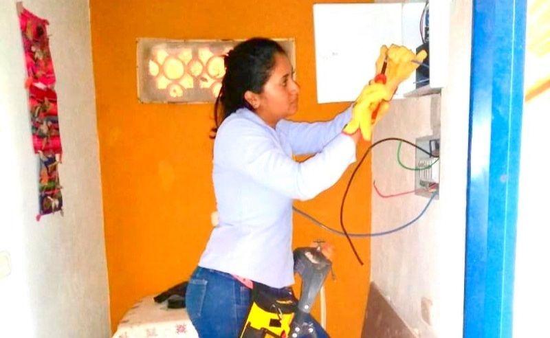 Instalando Cable Solar