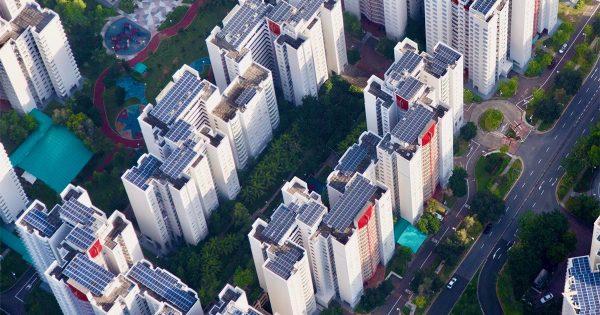 Paneles Solares Edificio