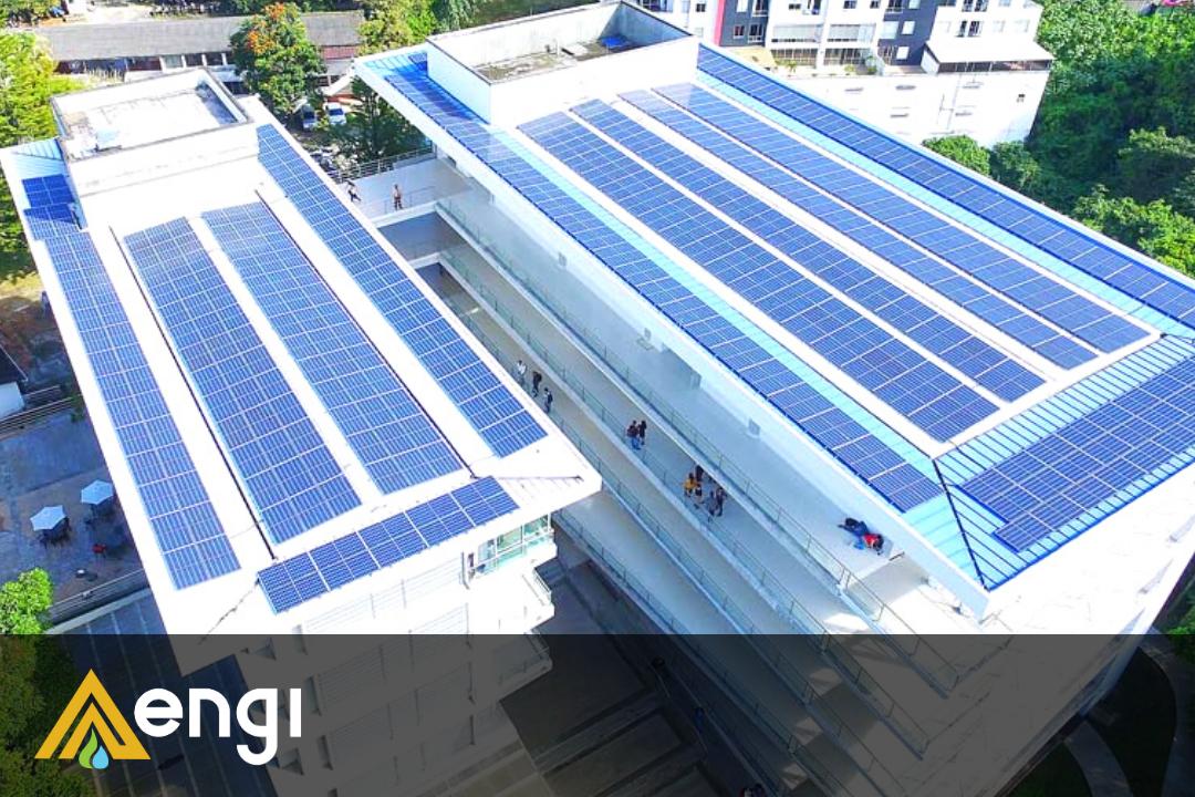 Paneles Solares Sobre Techo