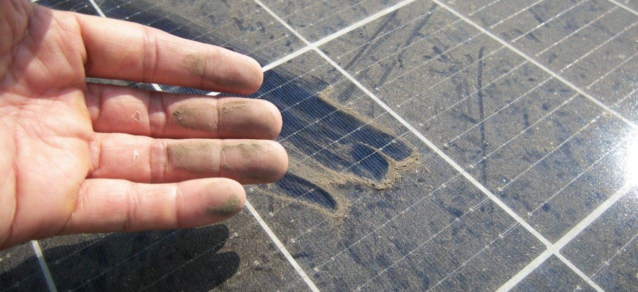 Suciedad Panel Solar