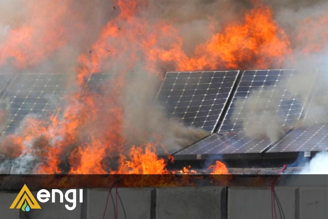 Portada Incendio Paneles Solares