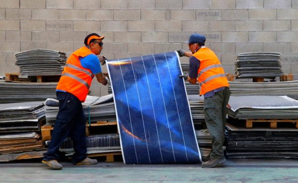 Reciclar Paneles Solares