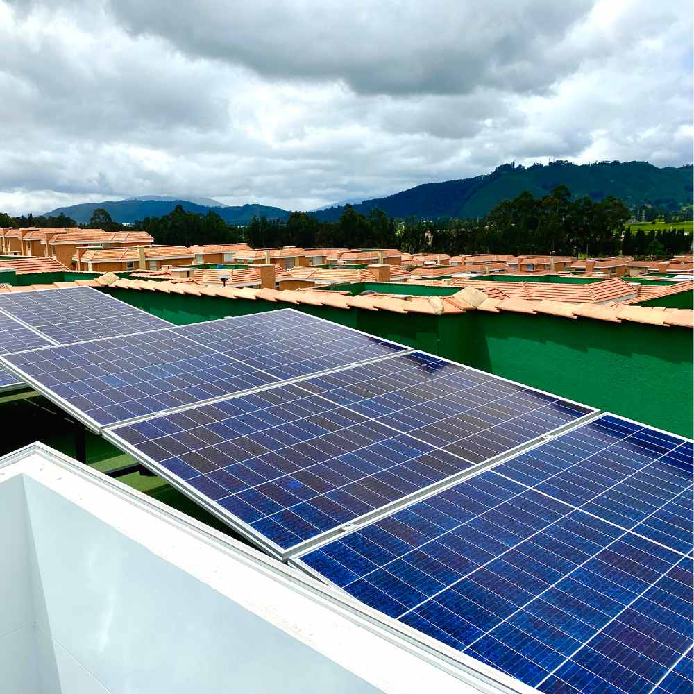 Paneles Solares Paisaje Cajica