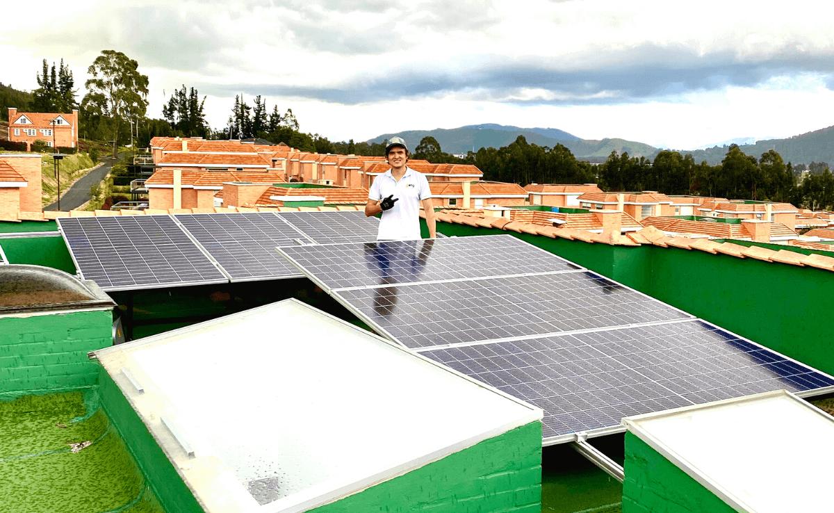 Techo Paneles Solares Cajica